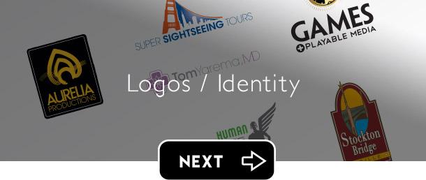 Logos / Identity next button - Graphic Regime