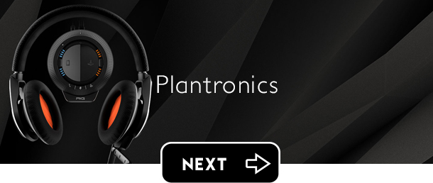 Plantronics gaming headphones Santa Cruz next button - Graphic Regime