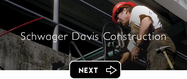 Schwager Davis SDI Construction next button - Graphic Regime