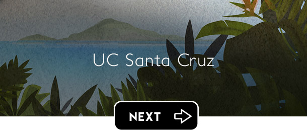 UCSC UC Santa Cruz next button - Graphic Regime