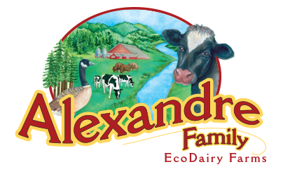 Alexandre Family EcoDairy Farms original logo
