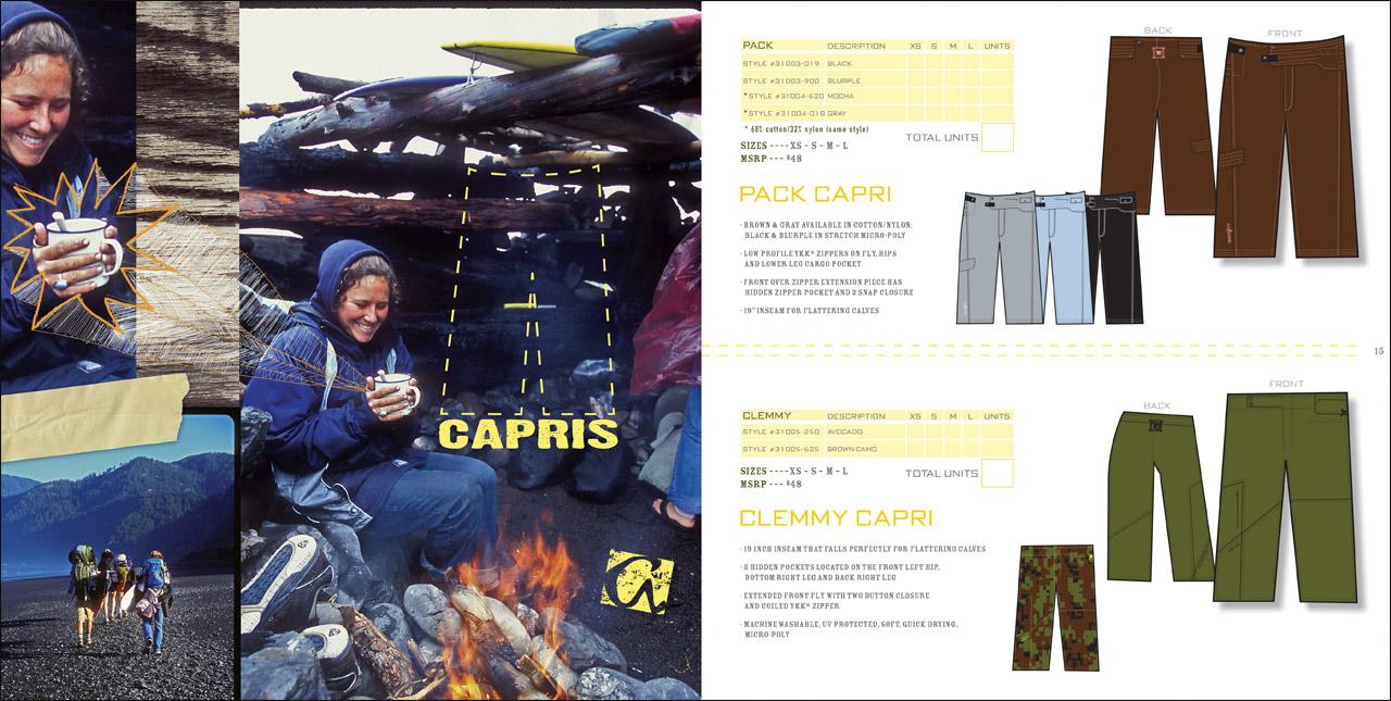 Aikane Surf - womens apparel catalog spread - Graphic Regime