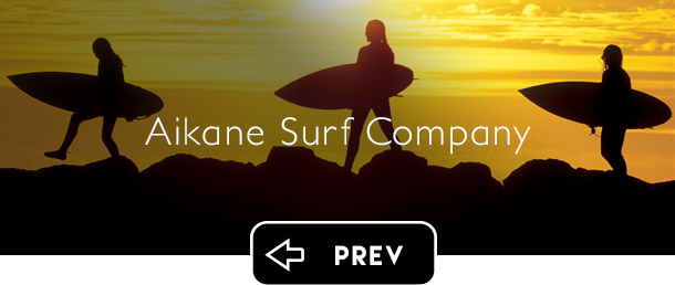 Aikane Surf Company previous button - Graphic Regime