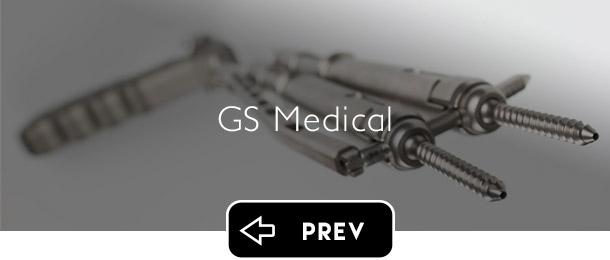 GS Medical USA previous button - Graphic Regime