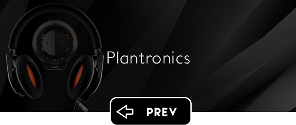 Plantronics Gaming previous button - Graphic Regime