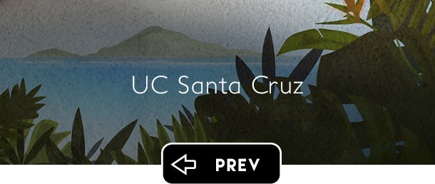 UC Santa Cruz UCSC previous button - Graphic Regime