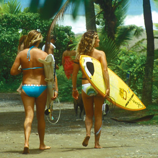 Aikane Surf women fashion apparel surfing Kim Mayer Hotline graphic design - Graphic Regime Chris Mark