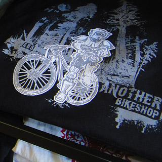 Another Bike Shop - ABS downhill mountain bikes Star Wars fashion illustration apparel graphic design - Graphic Regime Chris Mark