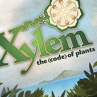UCSC University of California Santa Cruz gaming app graphic design - Xylem the code of plants - Graphic Regime Chris Mark