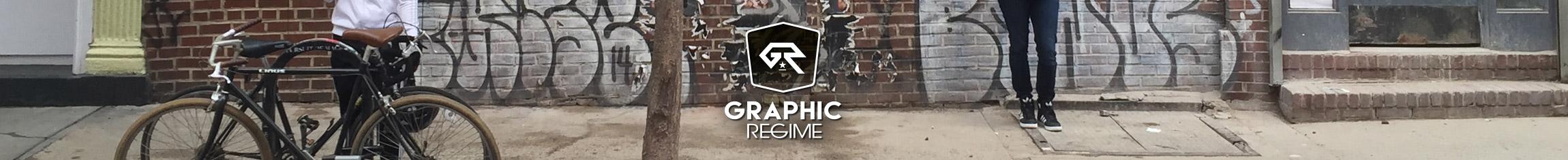 Graphic Regime footer New York urban graffiti street scene