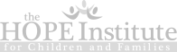 The Hope Institute for Children and Families charity Chicago logo - Graphic Regime client