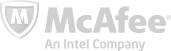 McAfee internet security logo - Graphic Regime client