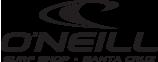 Oneill Surf Shop Sant Cruz surf logo Jack O'neill - Graphic Regime client