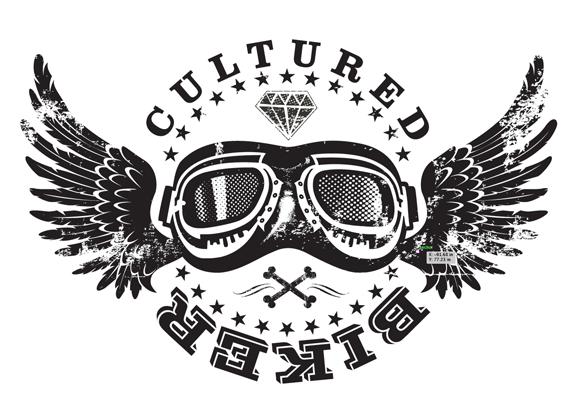 Chopper Motorcycle Riders Logo Design