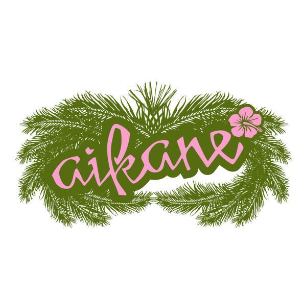 Aikane Surf - womens apparel palms tee - Graphic Regime