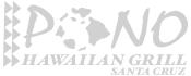 Pono Hawaiian Grill Logo - Graphic Regime