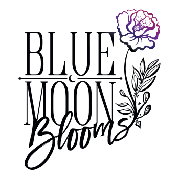 Graphic Regime Chris Mark Creative Director Blue Moon Blooms icon logo design