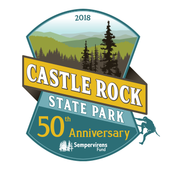 Graphic Regime Chris Mark Creative Director Caslte Rock State Park Sempervirens Fund icon logo design