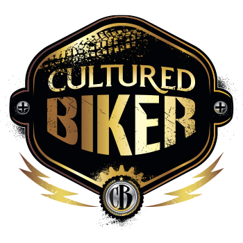 Graphic Regime Chris Mark Creative Director Cultured Biker icon logo design