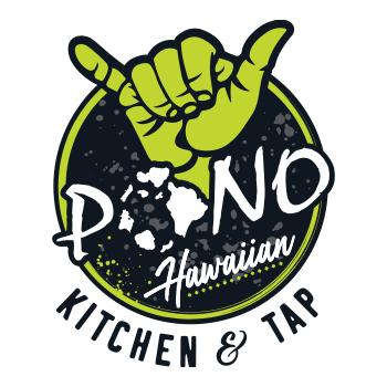 Graphic Regime Chris Mark Creative Director Pono Hawaiian Kitchen & Tap icon logo design